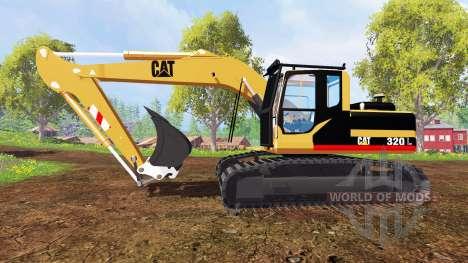 Caterpillar 320L für Farming Simulator 2015