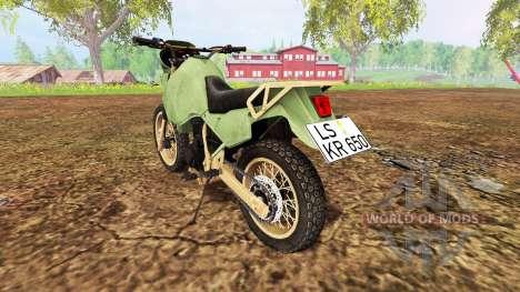 Kawasaki KR650 pour Farming Simulator 2015