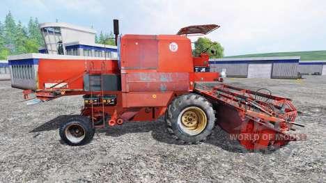 Bizon Z056 [red roof] pour Farming Simulator 2015