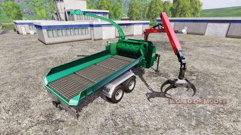 Jenz HEM 583 Z [back] pour Farming Simulator 2015