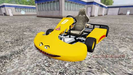 Karting v2.0 pour Farming Simulator 2015