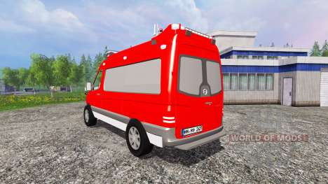 Mercedes-Benz Sprinter ELW pour Farming Simulator 2015