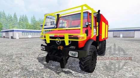 Mercedes-Benz Unimog U1200 CCF pour Farming Simulator 2015