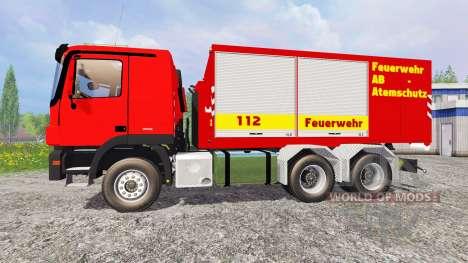 Mercedes-Benz Actros Feuerwehr pour Farming Simulator 2015