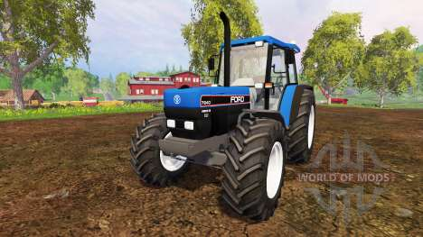 Ford 7840 pour Farming Simulator 2015