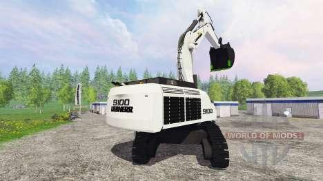 Liebherr R9100 für Farming Simulator 2015
