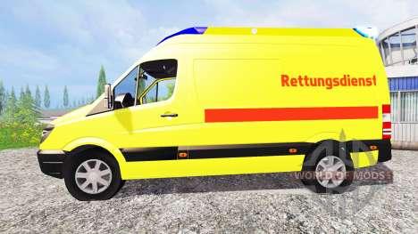 Mercedes-Benz Sprinter Ambulance für Farming Simulator 2015