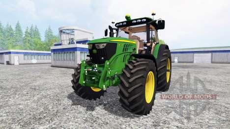 John Deere 6210R v2.0 [real run sound] für Farming Simulator 2015
