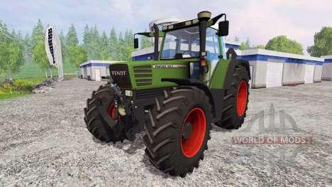 Fendt Favorit 515C Turbomatic [washable] für Farming Simulator 2015