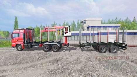 MAN TGS 33.440 [forest] v0.7 für Farming Simulator 2015