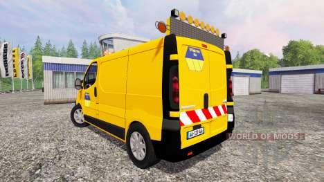 Renault Trafic Convoi Exceptionel für Farming Simulator 2015