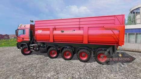 MAN TGS 10x8 pour Farming Simulator 2015