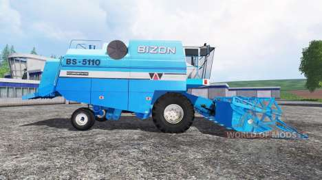 Bizon BS 5110 pour Farming Simulator 2015