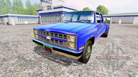 Chevrolet Silverado 1984 pour Farming Simulator 2015