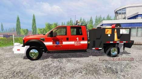 Ford F-450 [feuerwehr] für Farming Simulator 2015