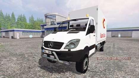 Mercedes-Benz Sprinter 313 CDI pour Farming Simulator 2015