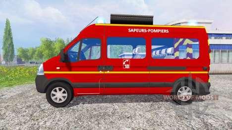 Renault Master [sapeurs-pompiers] pour Farming Simulator 2015