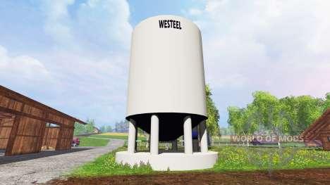 Silo Westeel für Farming Simulator 2015
