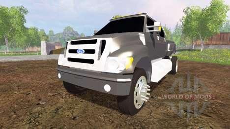Ford F-650 v2.0 pour Farming Simulator 2015