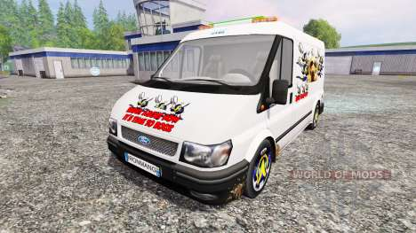 Ford Transit [party van] v2.0 pour Farming Simulator 2015