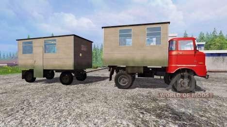 IFA W50 [passenger] für Farming Simulator 2015