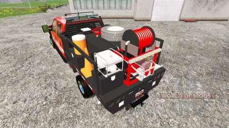 Ford F-450 [feuerwehr] pour Farming Simulator 2015