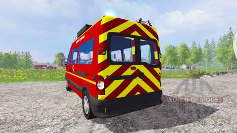 Renault Master [sapeurs-pompiers] für Farming Simulator 2015