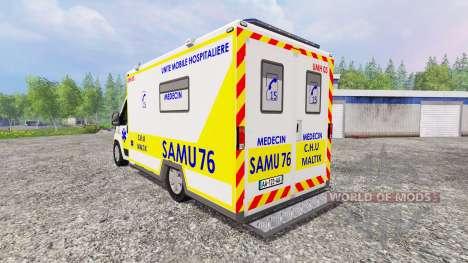 Peugeot Boxer SAMU pour Farming Simulator 2015