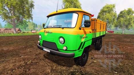 UAZ-452D [Raiffeisen] pour Farming Simulator 2015