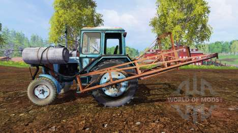 MTZ-80 Sprayer für Farming Simulator 2015