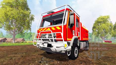 Renault Midlum [sapeurs-pompiers] pour Farming Simulator 2015