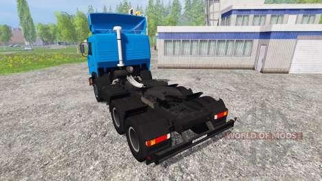 KamAZ-54115 NEFT pour Farming Simulator 2015