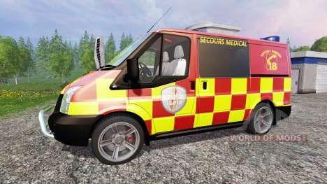 Ford Transit [secours medical] für Farming Simulator 2015