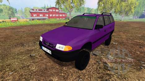 Opel Astra F Caravan [tuning] für Farming Simulator 2015