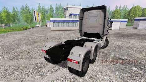 Scania R730 pour Farming Simulator 2015