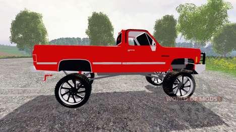 Chevrolet Silverado für Farming Simulator 2015