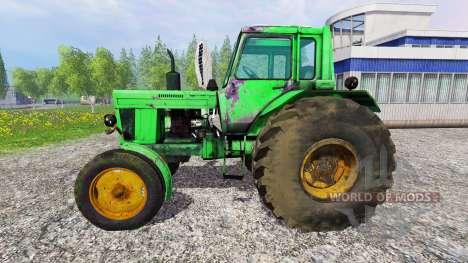 MTZ-80 belarussische v1.0 für Farming Simulator 2015