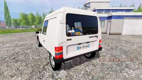 Citroen C15 pour Farming Simulator 2015