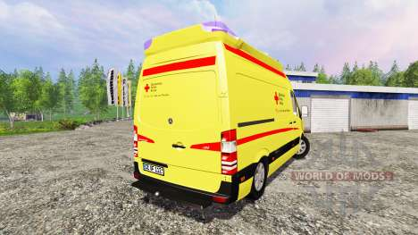 Mercedes-Benz Sprinter Ambulance v2.0 für Farming Simulator 2015