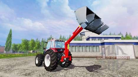 Heck-front-loader für Farming Simulator 2015