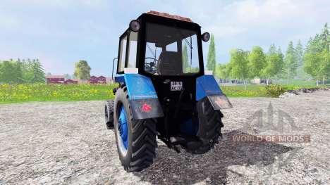 MTZ-80 Biélorusse v2.0 pour Farming Simulator 2015