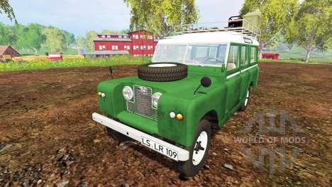 Land Rover Series IIa Station Wagon 1965 für Farming Simulator 2015