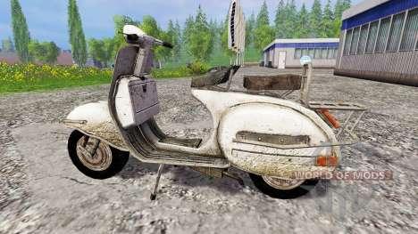Piaggio Vespa v1.0 pour Farming Simulator 2015