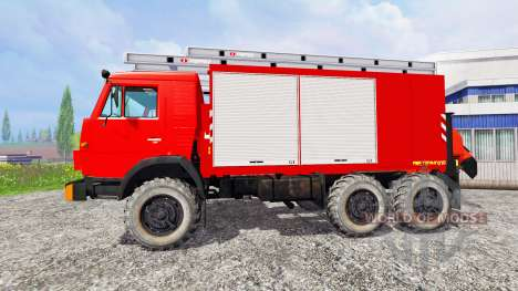 KamAZ-43114 [Brandschutz] für Farming Simulator 2015