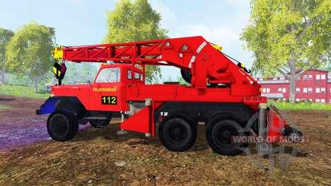Magirus-Deutz 200D26A [firemen truck crane] für Farming Simulator 2015