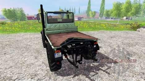 Mercedes-Benz Unimog U1200 für Farming Simulator 2015