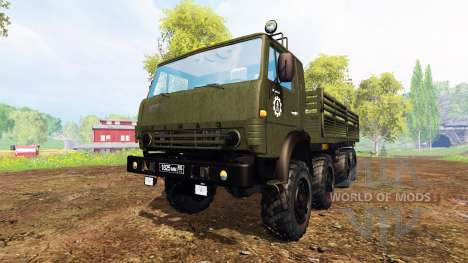 KamAZ-6350 [pack] für Farming Simulator 2015