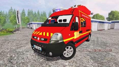 Renault Master [sapeurs-pompiers] SDIS60 pour Farming Simulator 2015