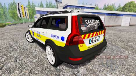 Volvo XC70 SAMU für Farming Simulator 2015