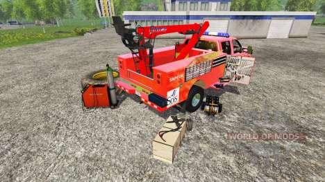 Ford F-350 [sapeur pompier] pour Farming Simulator 2015